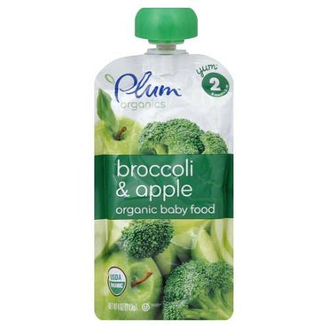 Plum Organics  Plum Broccoli/Apple (6X4 OZ)
