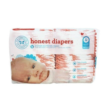The Honest Company Diapers Giraffes Size N  (1x40 Ct)