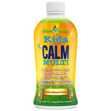 Natural Vitality Kids Natural Calm Multi Liquid Fruity Splash (1x30 OZ)
