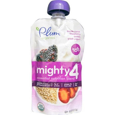 Plum Organics Purple Carrot, Blackberry Quinoa, Greek Yogurt (6X4 OZ)