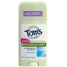 Tom's Of Maine Stick Antiperspirant Unscented (6x2.25 Oz)