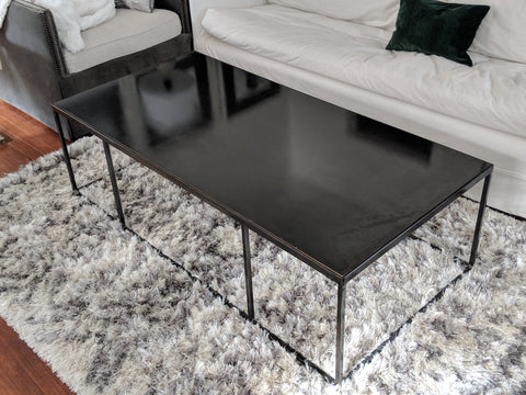 Hot-Rolled Carbon Steel Coffee Table