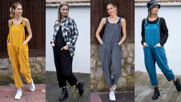 Styling Your Dungarees For Cold Weather