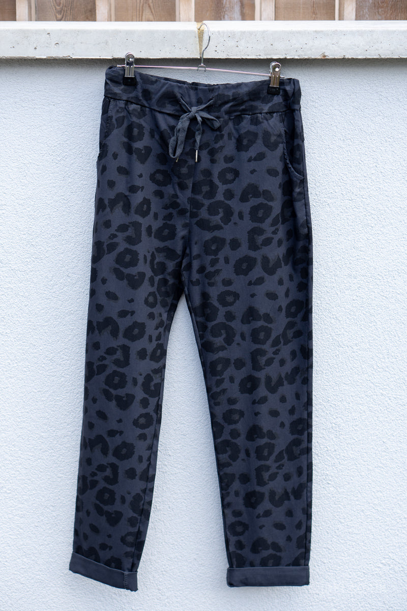 Leopard Smart Joggers (Two Pocket Super Stretch)