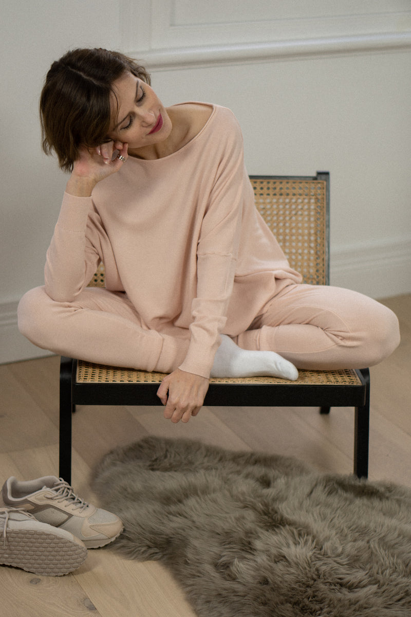 Lounge Set in Blush