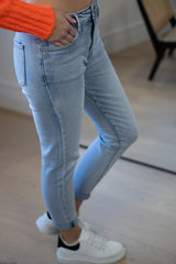 Light Blue Stretch Jeans
