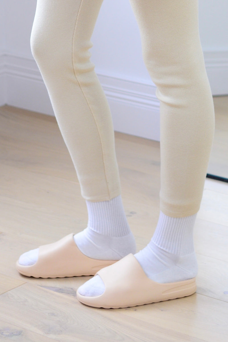 Comfort Sliders In Cream