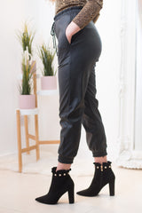 Leona Faux Leather Trousers