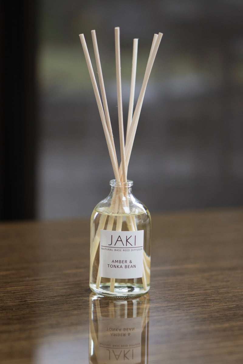 JAKI Natural Base Reed Diffuser (100ml)