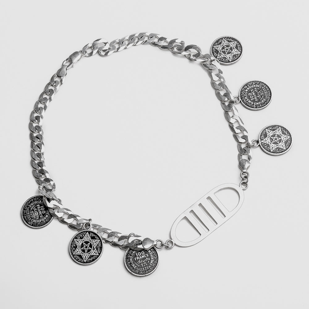 LIMITED Master-Piece Tribal Coins NECKLACE