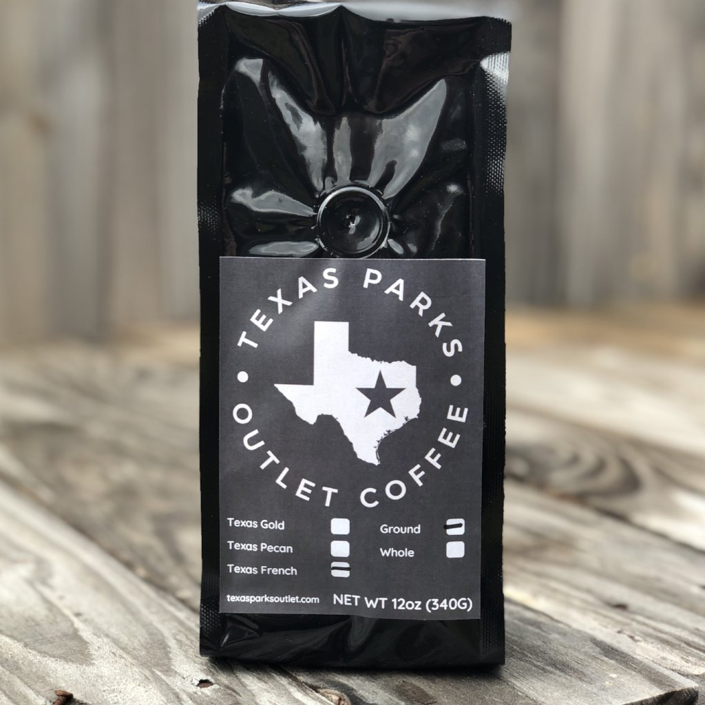 Texas Coffee French Roast bold and insanely aromatic