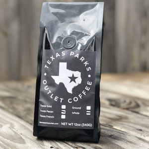 Texas Coffee Pecan Roast fine coffee beans with the best pecan flavor and a hint of carmel