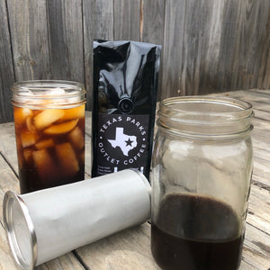 TXPO Cold Brew Filter Kit + Coffee