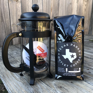 Bodum French Press Bundle (2 bags of coffee)