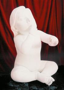 Ma Liuming | Baby, 1999 | Fiber glass