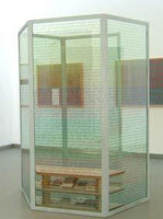 René Green | Elsewhere? - Movable Contemplation Unit (MCU), 2002