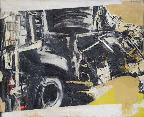 Rafael Canogar | Accidente, 1964