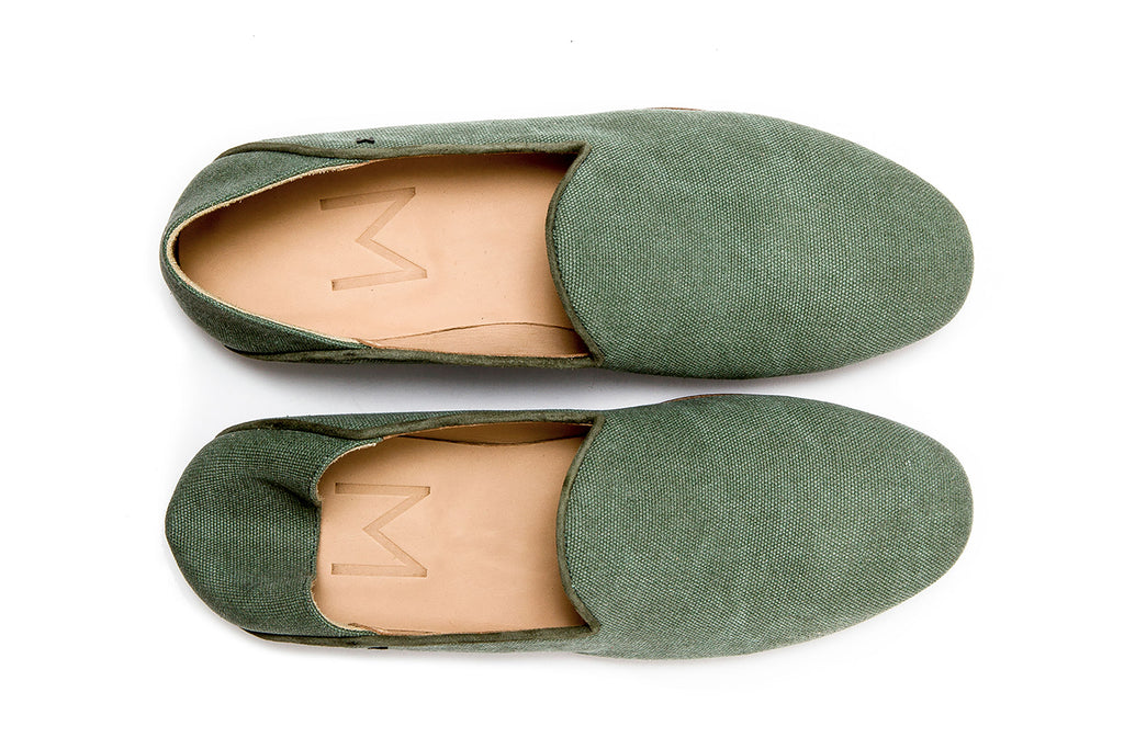 MONTEREY MS.01 Canvas Green Thaï