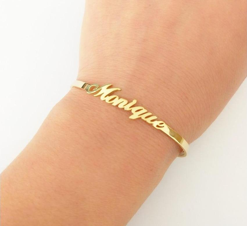 Customisable Name Cuff Bracelet