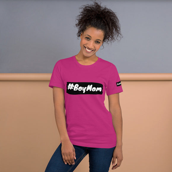 #BoyMom Short-Sleeve Unisex T-Shirt