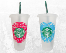 Personalized Starbucks Logo Circle Decal