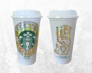 Personalized Starbucks Logo Pet Decal