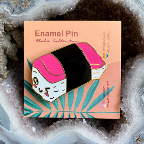 Punkdom Kawaii Forever Spam Musubi Pin