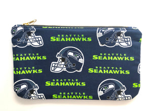 Seahawks Travel Clutch