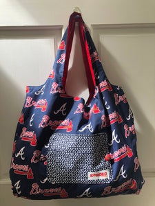 Atlanta Braves Folding Eco-Tote