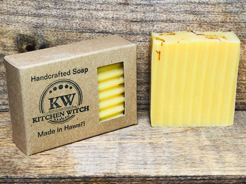 Mellow Yellow Organic Lemon Soap