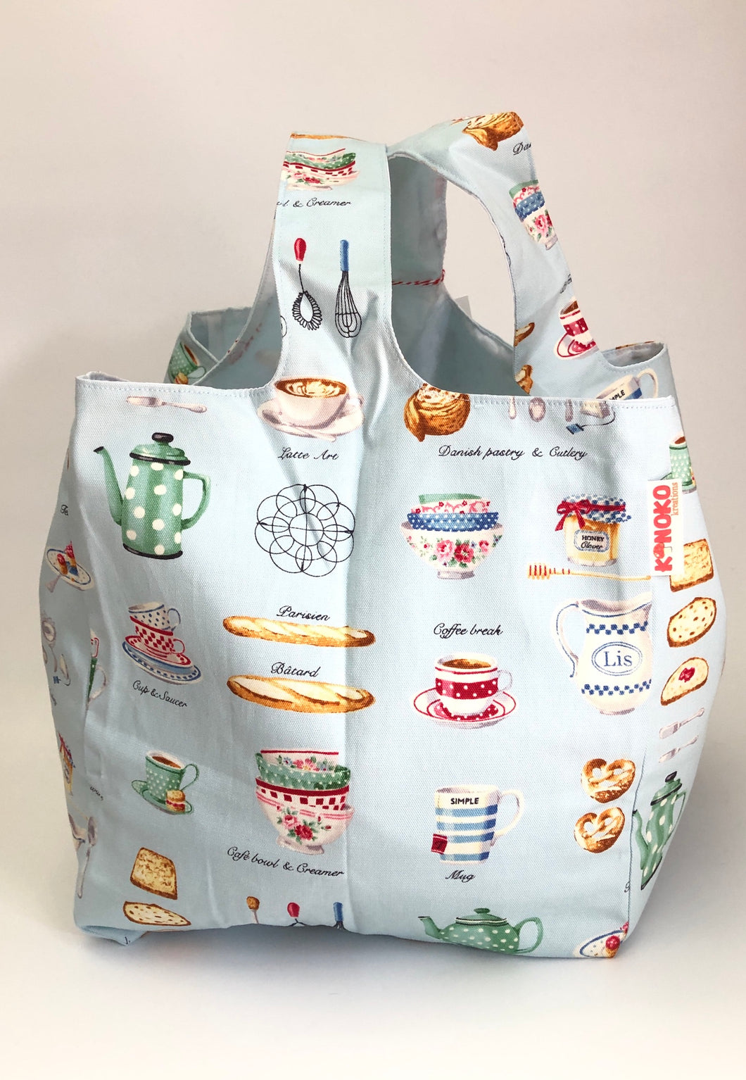 Retro Kitchen Molly Market Bag