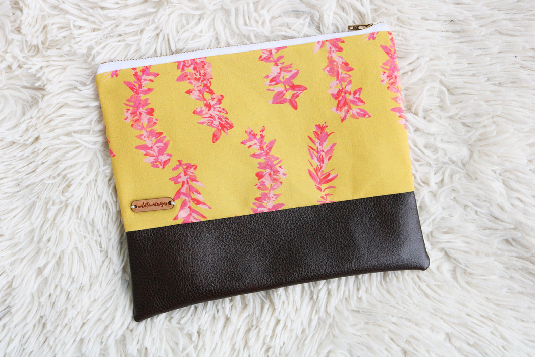 Fierce and Flowery Clutch