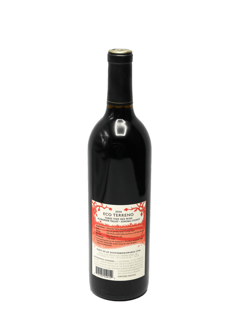 2014 Eco Terreno Three Vine Red