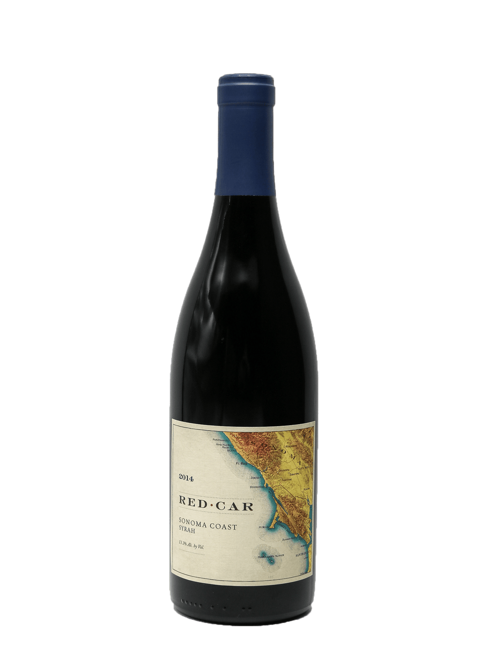 2014 Red Car Sonoma Coast Syrah