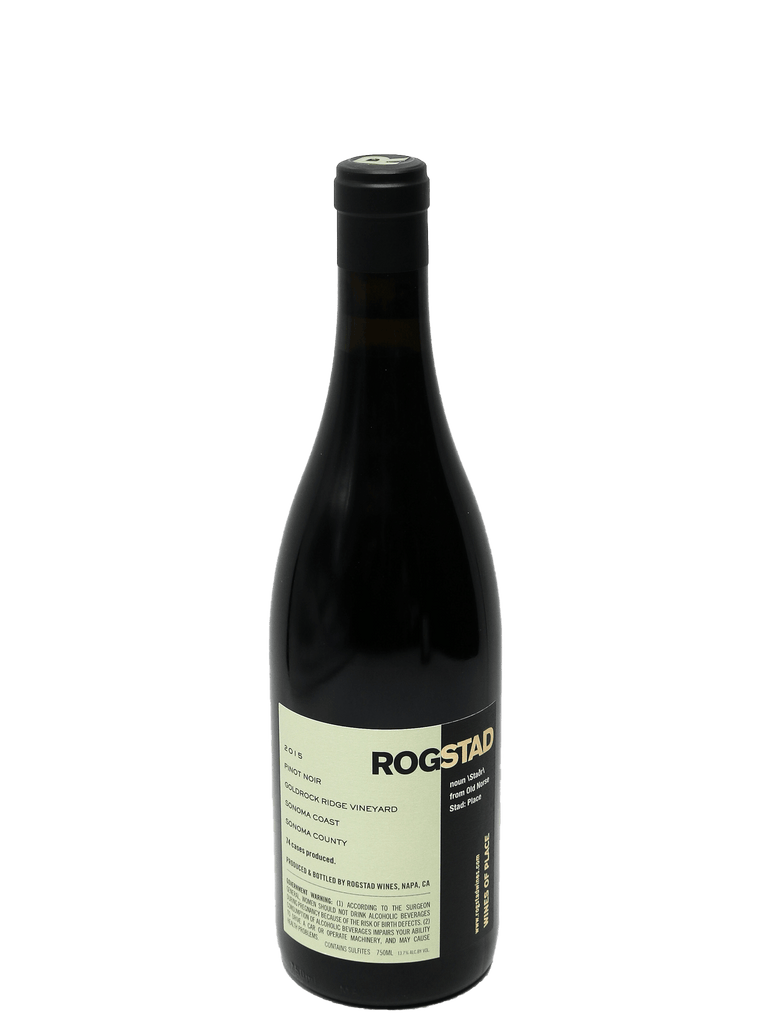 2015 Rogstad Goldrock Ridge Vineyard Sonoma Coast Pinot Noir
