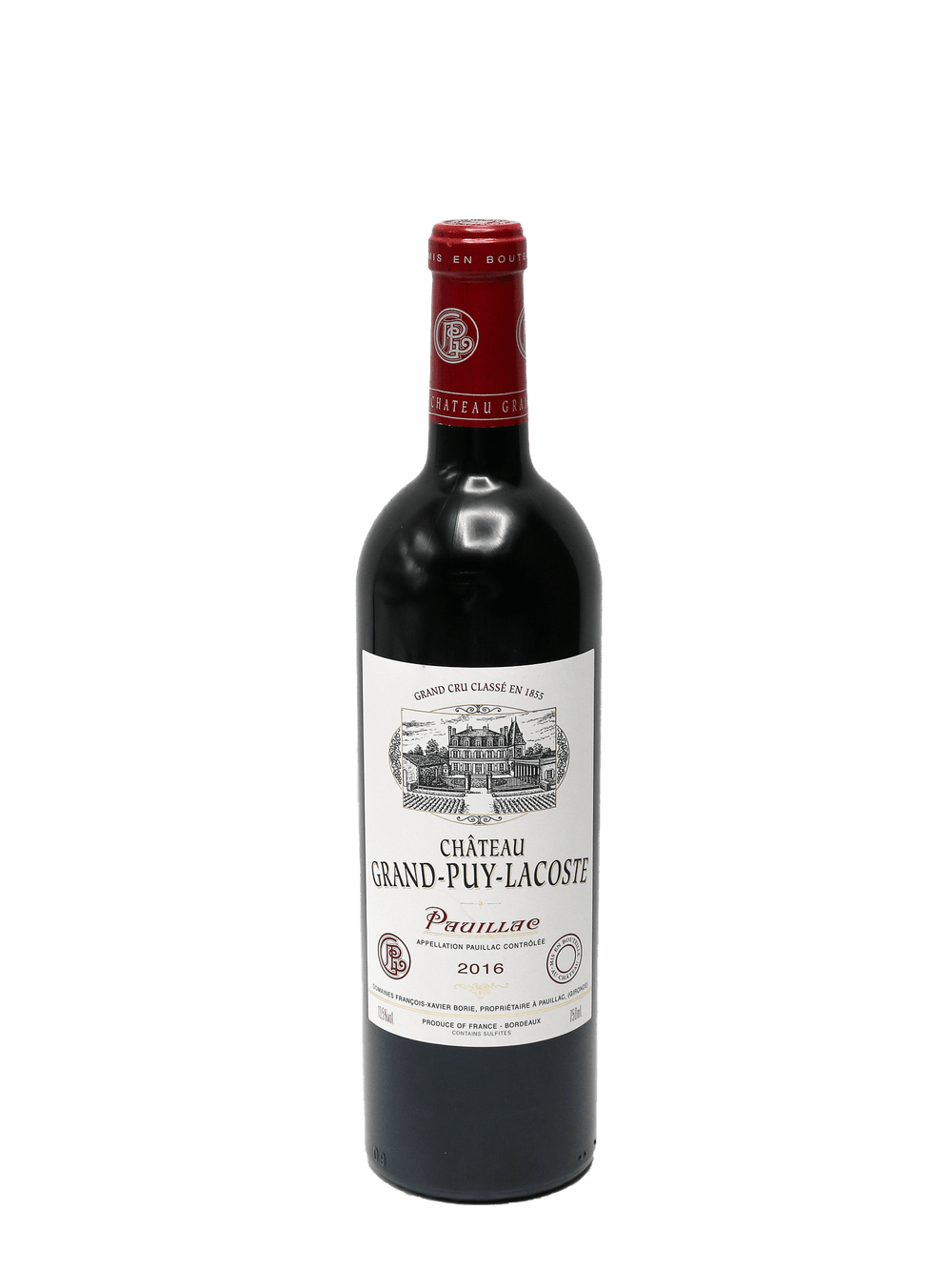 2016 Chateau Grand Puy Lacoste Pauillac