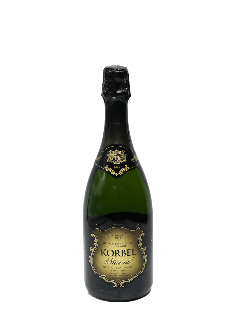 2016 Korbel Natural Methode Champenoise Sparkling Wine