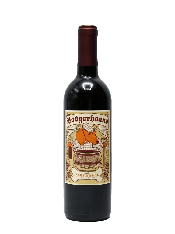 2016 Badgerhound Zinfandel Sonoma County