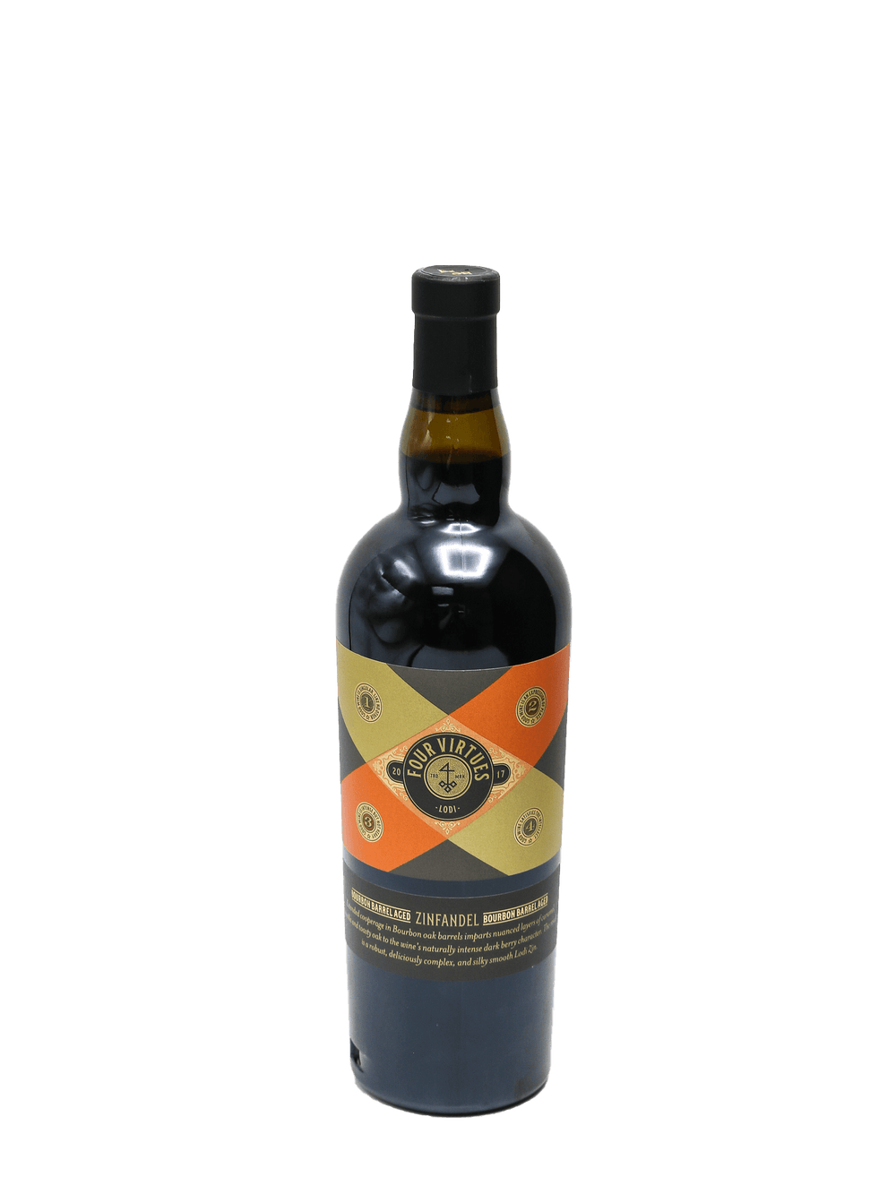 2017 Four Virtues Bourbon Barrel Aged Zinfandel