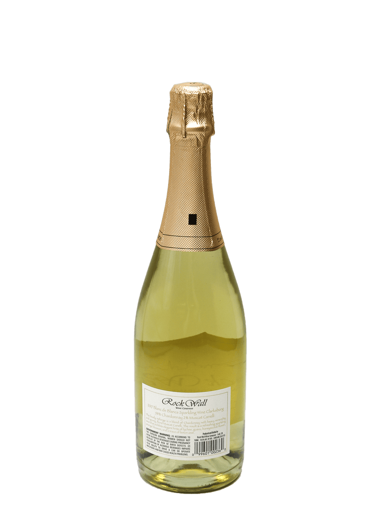 2017 Rock Wall Wine Co. Blanc de Blancs