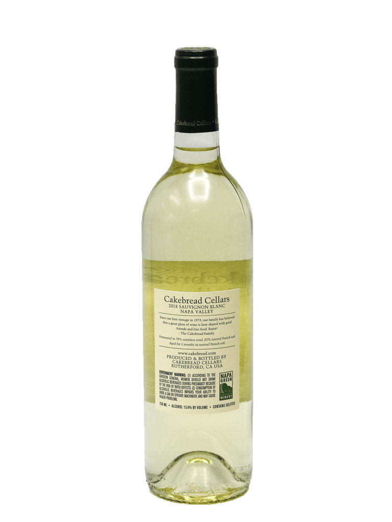 2018 Cakebread Cellars Napa Valley Sauvignon Blanc (SOLD OUT)