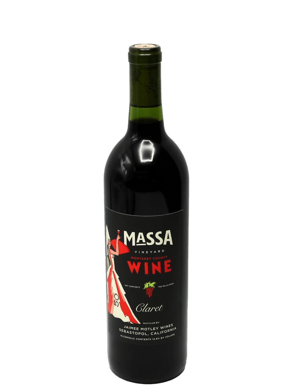 2018 Jaimee Motley Wines Massa Vineyard Claret