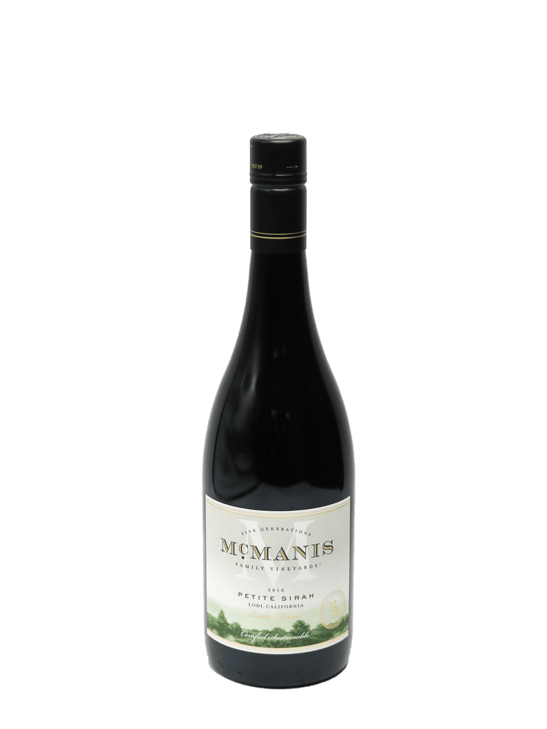 2018 McManis Family Vineyards Petite Sirah