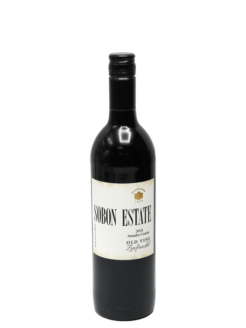 2018 Sobon Estate Zinfandel Old Vine Amador County