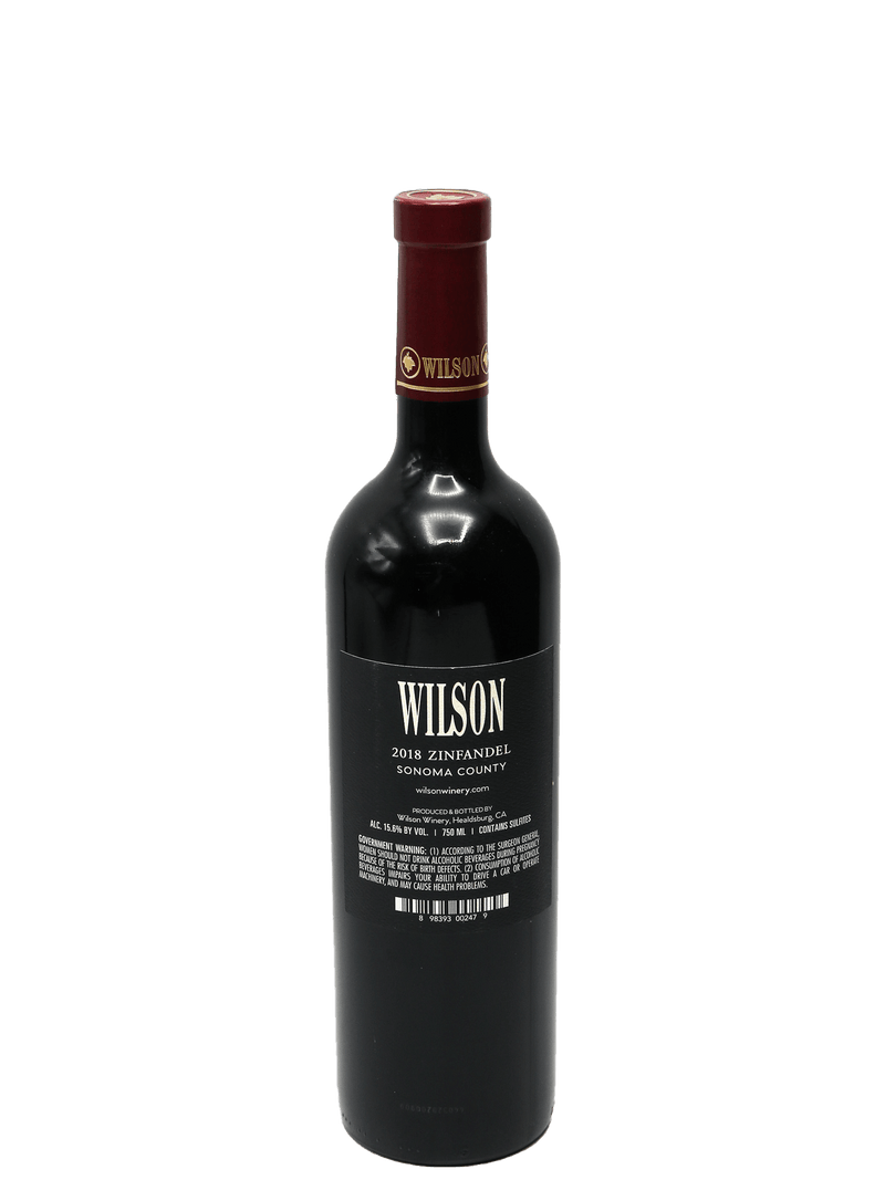 2018 Wilson of Dry Creek Zinfandel Sonoma County