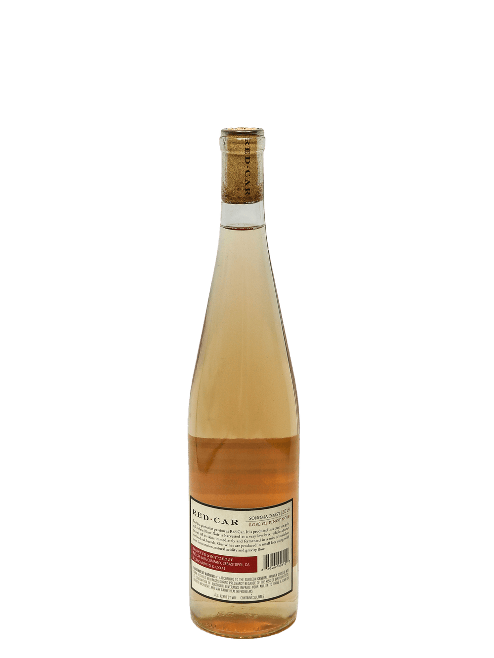 2019 Red Car Sonoma Coast Rose of Pinot Noir