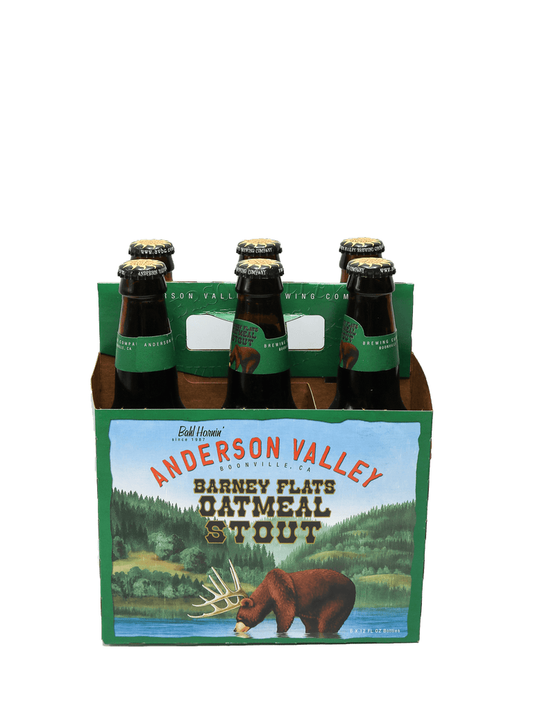 Anderson Valley Oatmeal Stout 6pk bottles