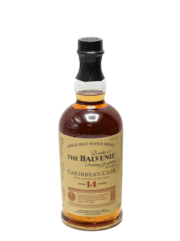 Balvenie Caribbean Cask 14 Year Single Malt Scotch 750ml