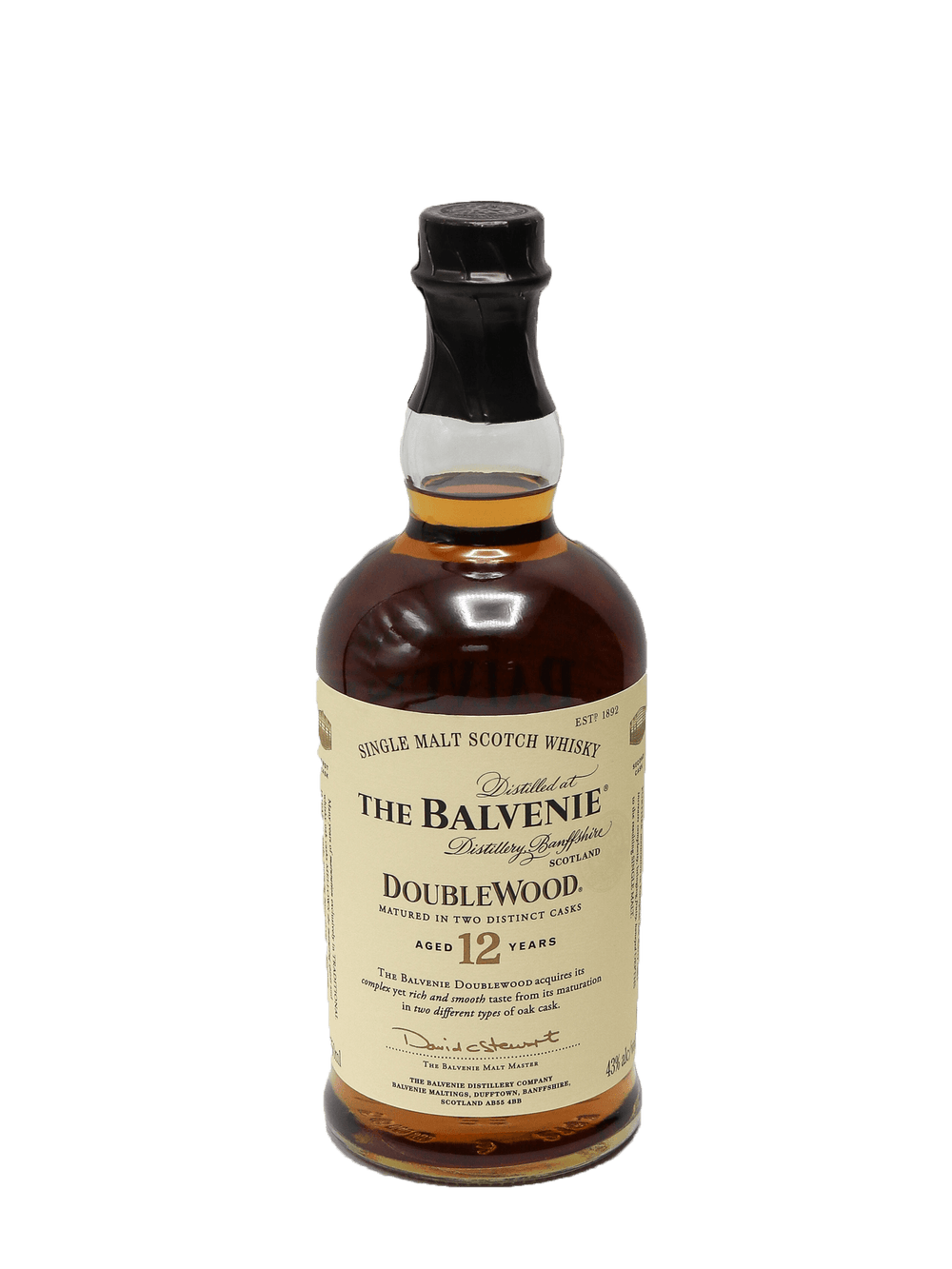 Balvenie Doublewood 12 Year Single Malt Scotch