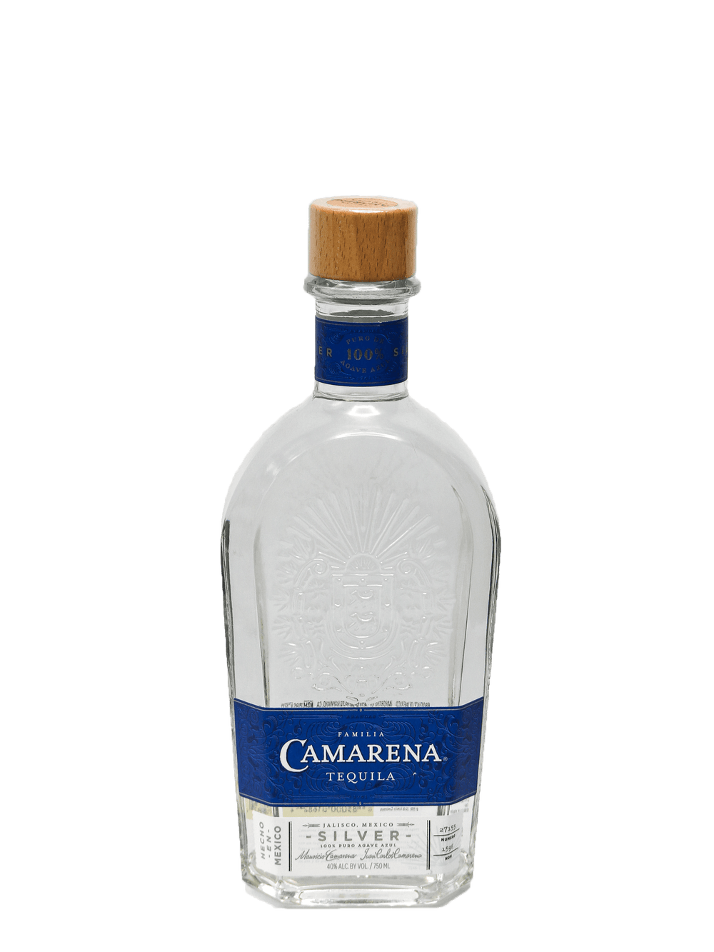 Camarena Silver Tequila 750ml